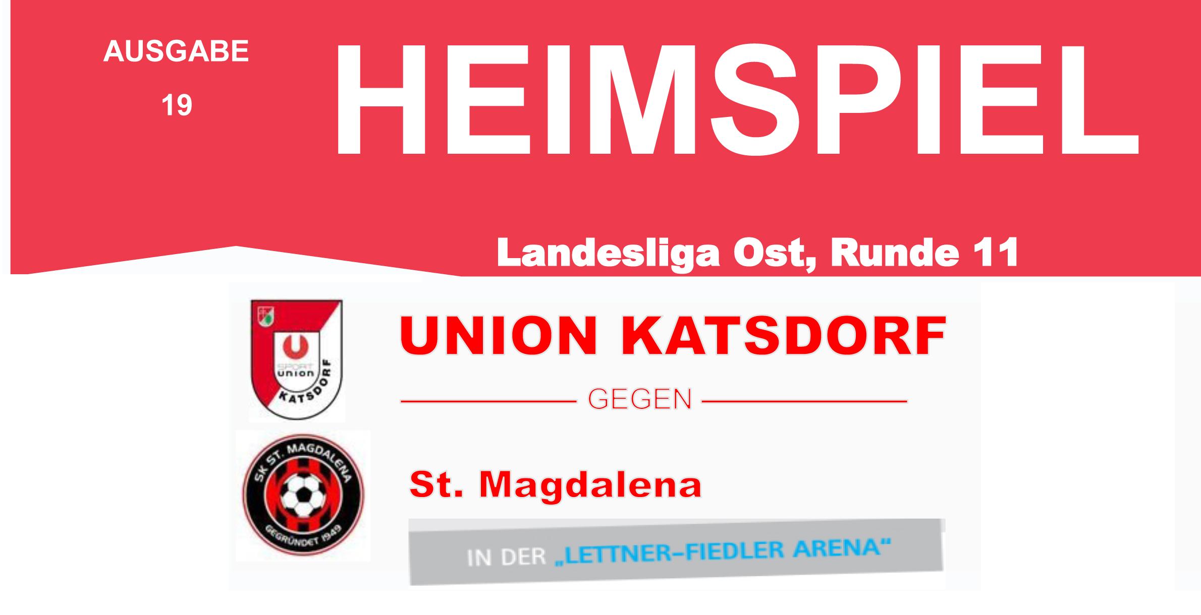 Heimspiel gegen St. Magdalena