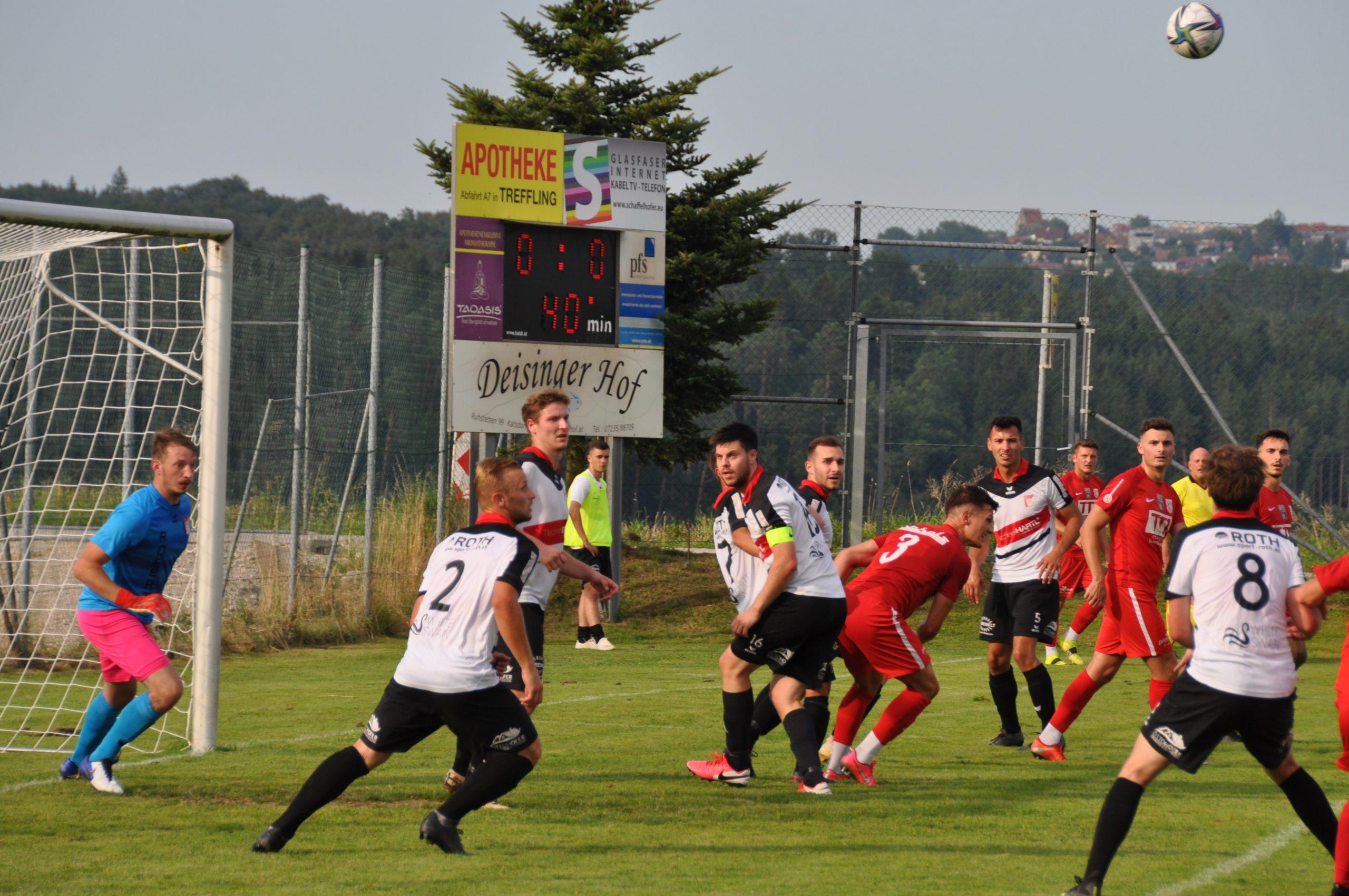 Fotos und Ergebniss zur  2.ten Cup-Runde gegen St. Florian