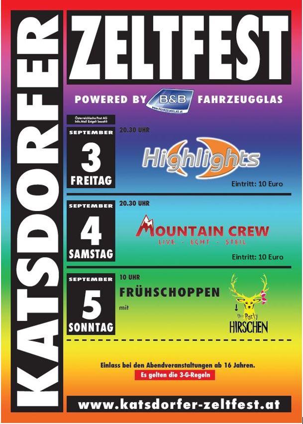 Katsdorfer Zeltfest – ES WAR TOLL